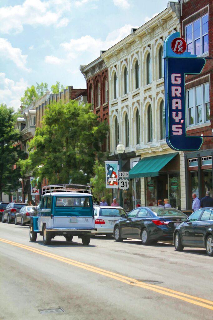 Main Street, Franklin TN, Debbie Smartt