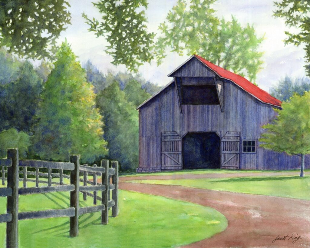 Williamson County Archives, Artist Janet King