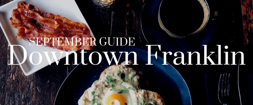 September Guide: Dining Downtown